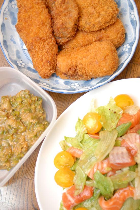 【Denner】サーモンサラダ(写真食堂)