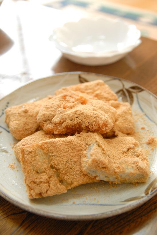 【Breakfast】あべかわ餅(写真食堂)