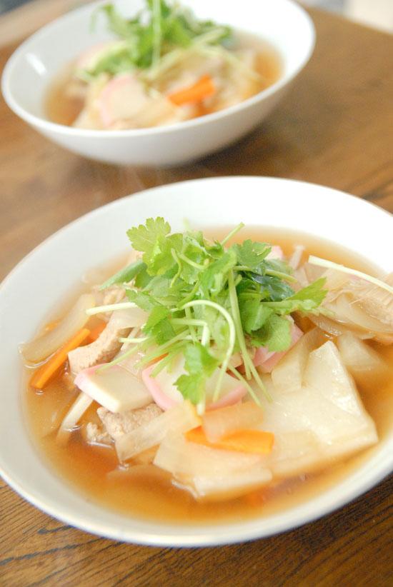 【Breakfast】お雑煮(写真食堂)