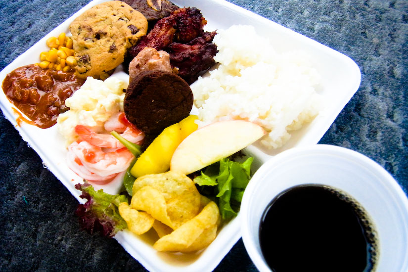 【Hawaii-Lunch】プレートランチ(Plate Lunch)(写真食堂)