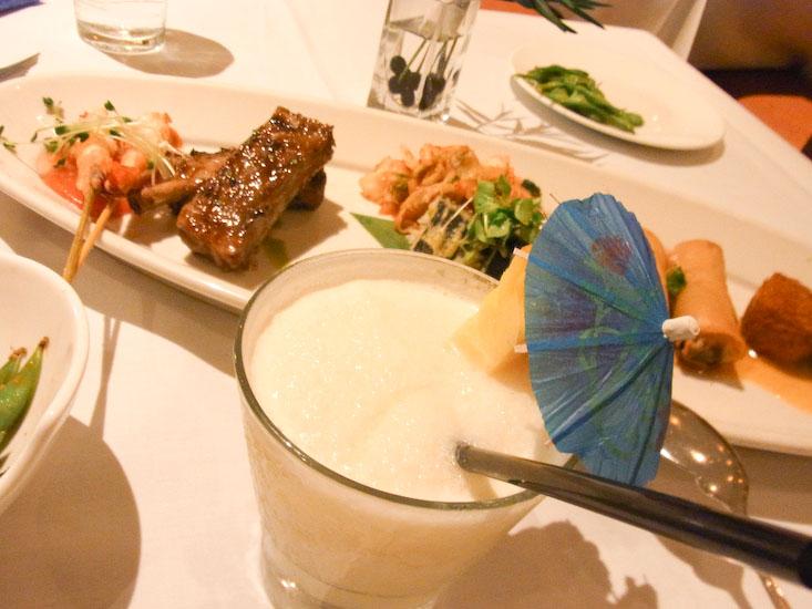 【Hawaii-Lunch】パンダのランチプレート(写真食堂)