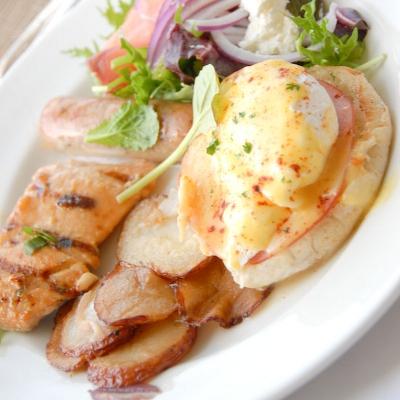 【Hawaii-Breakfast】モアナサーフライダーの朝食(写真食堂)
