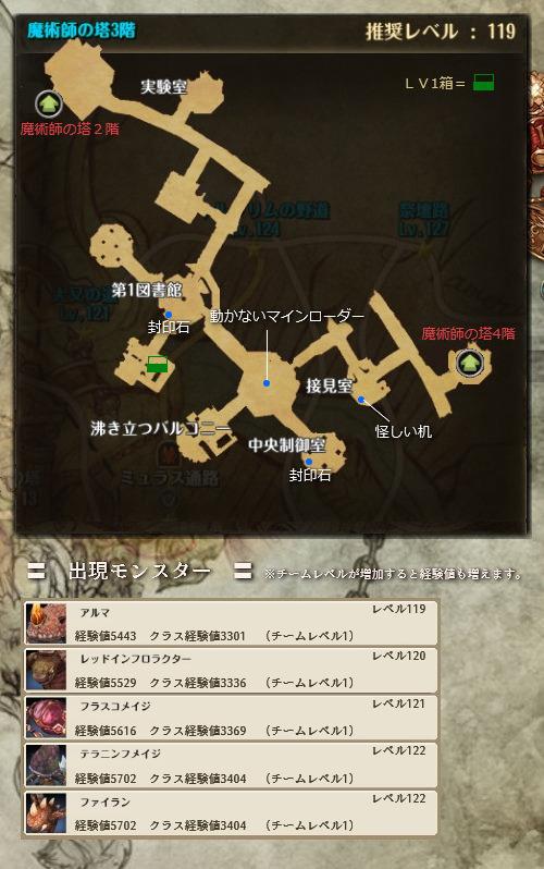 魔術師の塔3階