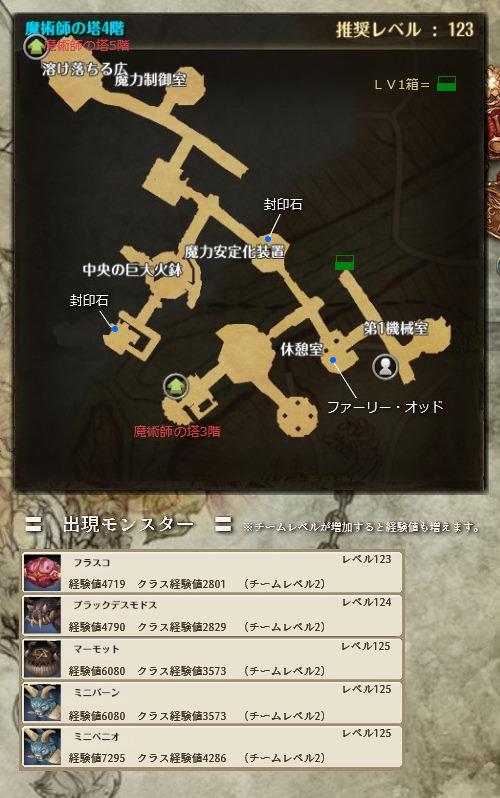 魔術師の塔4階