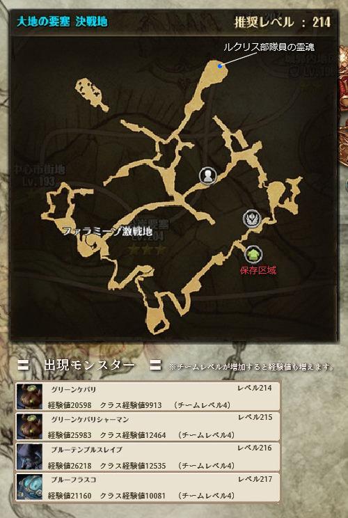 大地の要塞 決戦地