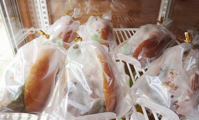 サバサンド 鶏肉サンド