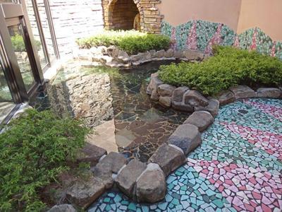 岩風呂 庭園露天風呂