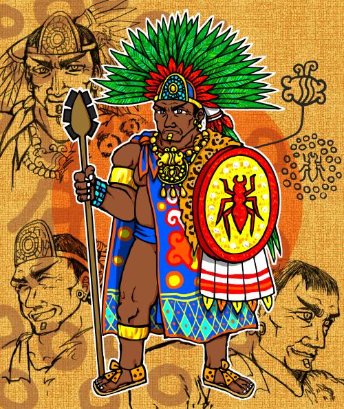 アステカ漫画 アステカの君主・補足
