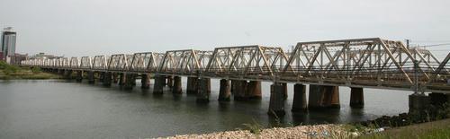上淀川橋梁(東海道貨物線)|轍のあった道